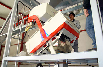 Color Sorter Installation